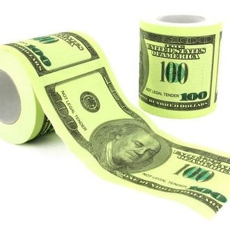 Toilet Papier Dollar