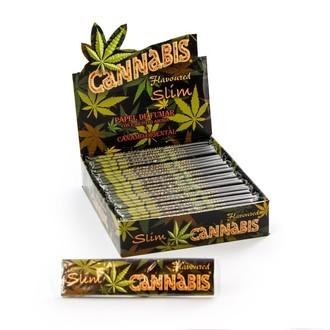 Lange Vloei met Cannabis smaak King Size