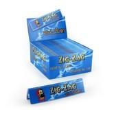 Lange Vloei ZigZag Blue King Size