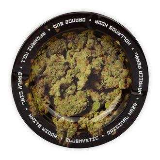 Metalen Asbak Met Cannabistoppen