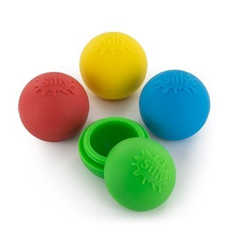 Silly Silicone Ball (niet-plakkend)