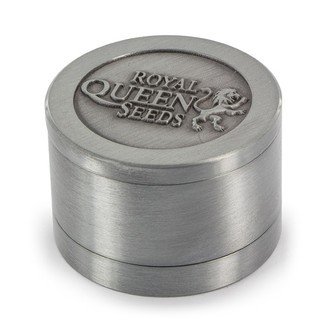 Metalen Grinder Royal Queen Seeds LIMITED EDITION (3-delig)