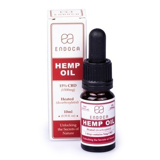 Endoca Hemp Oil 15% CBD