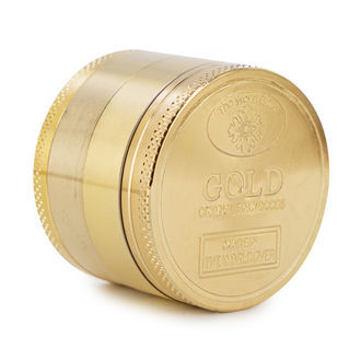 Metalen Grinder 24K Goud