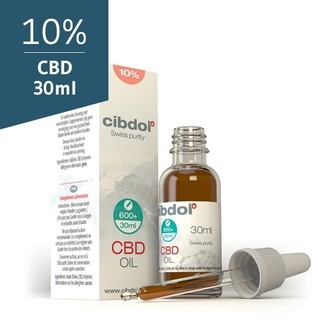 CBD Olie 10% (Cibdol) 30ml