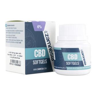 CBD Softgel Capsules 4% (Zamnesia)