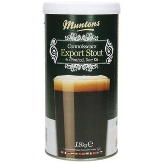 Bierkit Muntons Export Stout (1,8kg)