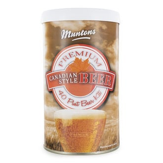 Bier Kit Muntons Canadian Ale (1,5kg)