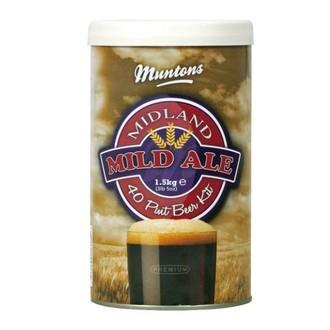 Bierkit Muntons Midland Mild (1,5kg)