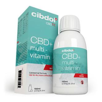 Liposomale Multivitamine Met CBD (Cibdol) 150ml