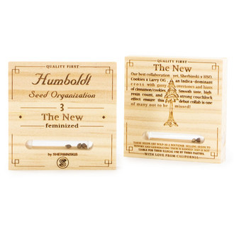 The New (Humboldt Seeds) feminized