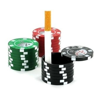 Pocket Asbak Casino Chips
