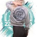 Zamnesia Crop Top Sweater   Dames