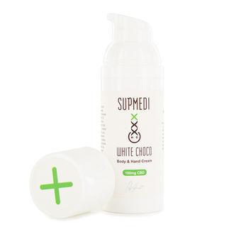 CBD Body & Handcrème White Choco (SupMedi)