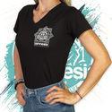 Double Vision T-Shirt | Dames