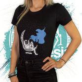 T-shirt Glow-in-the-Dark | Dames