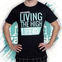 Zamnesia High-Life T-shirt   Heren