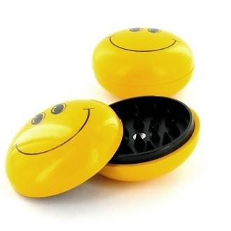 Plastic Grinder Smiley (2 -delig)