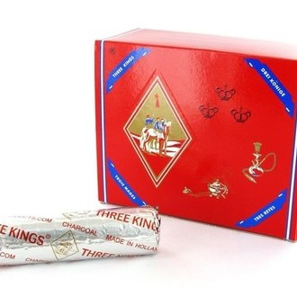 Shisha Charcoal Three Kings