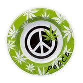 Metalen Asbak Peace