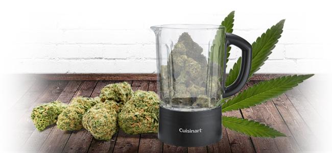 Cannabis Grinden: Blend It