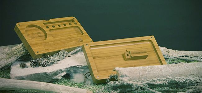 RAW BAMBOO BACKFLIP TRAY