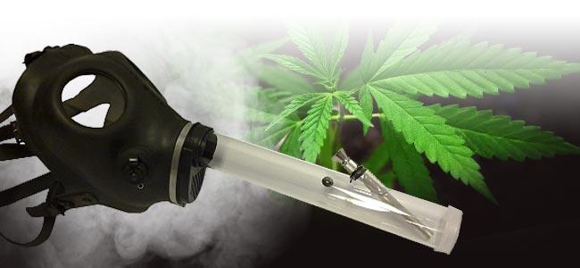 Cannabis Roken Gasmasker
