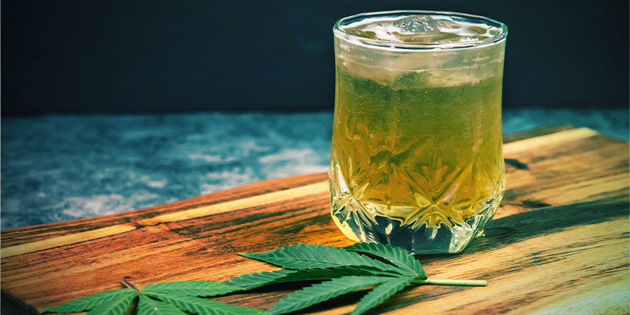 Drankjes met Cannabis