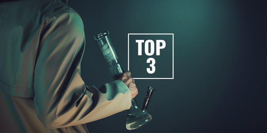 Top 3 Bongs Van Borosilicaatglas Bij Zamnesia