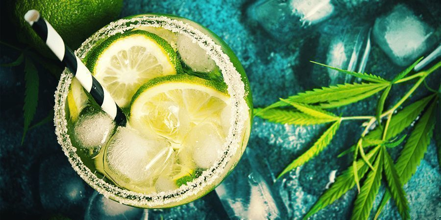 Cannabis Stengels: Cocktail