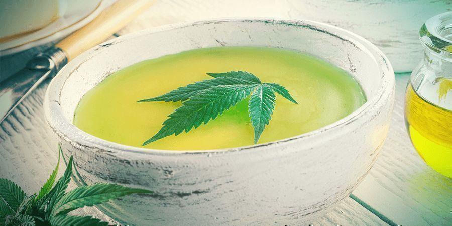 Cannabis Stengels: Canna Boter