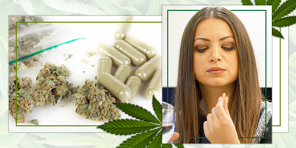 Maak THC-Pillen Van Je Getrimde Bladeren