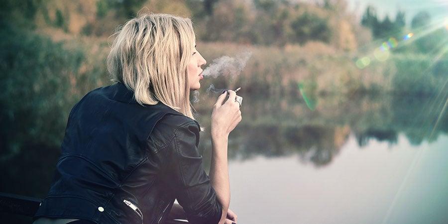 Ongezien wiet roken
