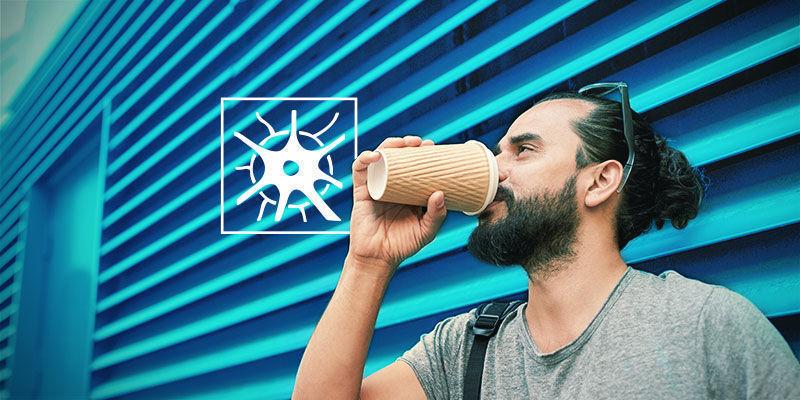 Hoe werkt cafeïne?