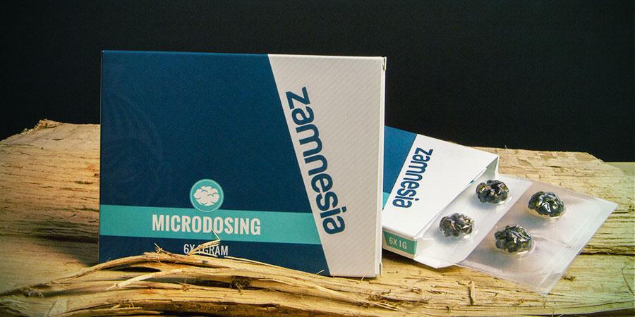 Microdoseren Van Paddo's