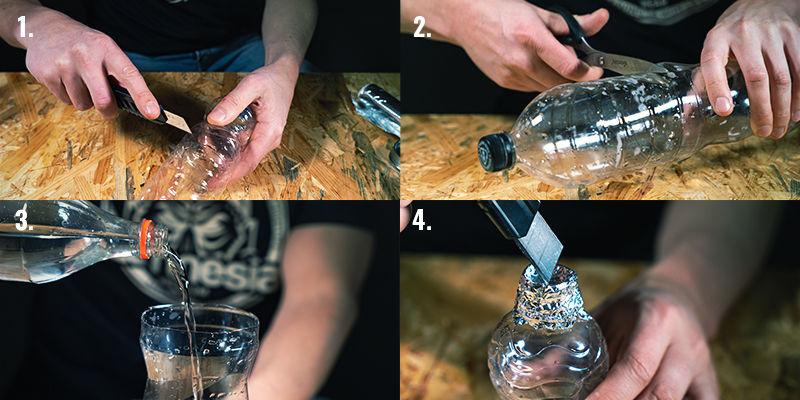 Instructies voor het maken van een bucket bong