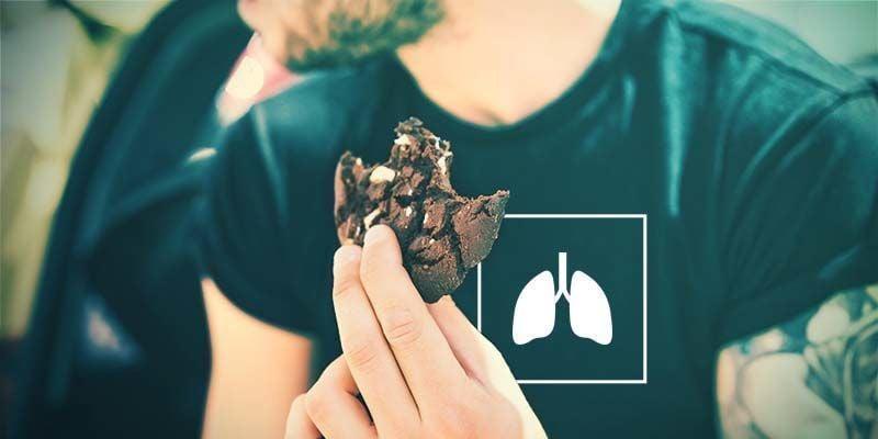 Cannabis Edibles: Niet schadelijk voor je longen
