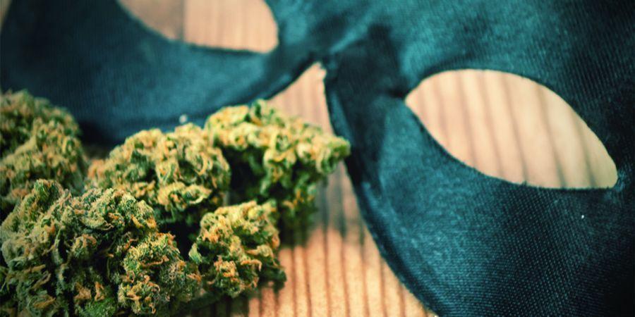 Creëer Zelf Een Halloween Kostuum Met Als Thema Cannabis
