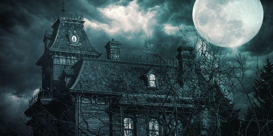 Ga High Naar Een Spookhuis