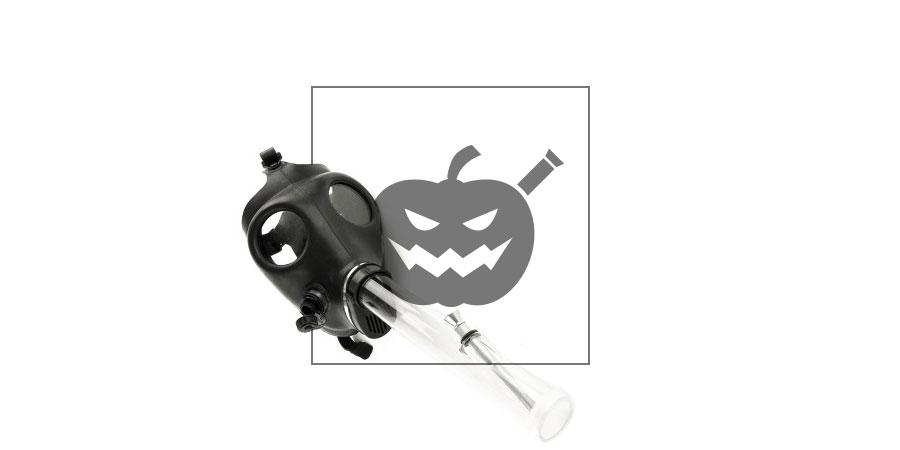 Gasmasker Waterpijp