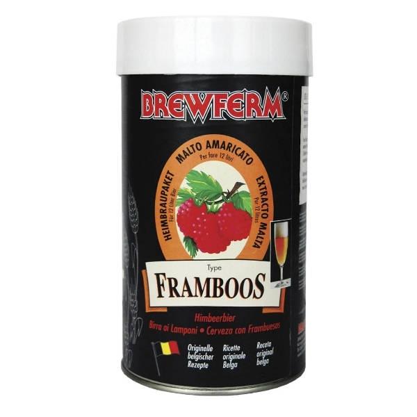 Bierkit Brewferm Raspberry (12l)