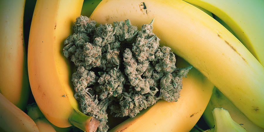 De Oorsprong Van Banana Afpellen