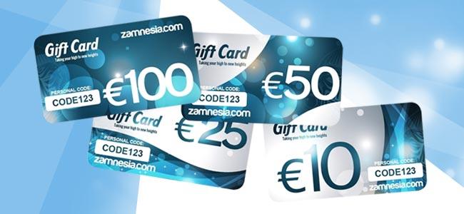 Zamnesia Gift Cards
