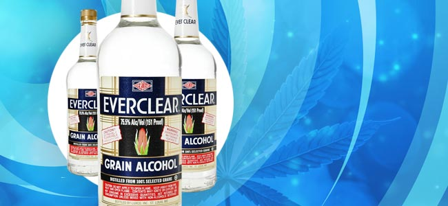 Cannabis Tincturen Everclear
