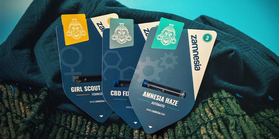 Cannabis Zaden Zamnesia