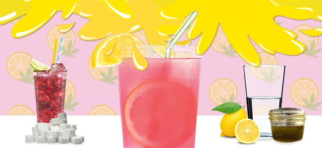 Cannabis Lemonade - MAKE IT PINK