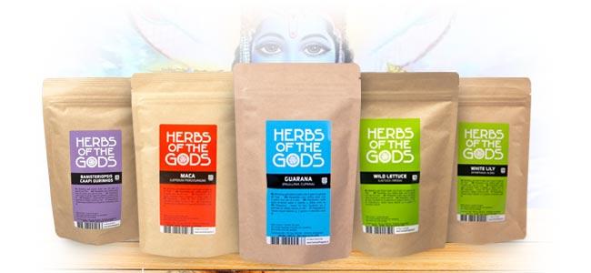 Herbs Of The Gods Wat hebben ze zoal?
