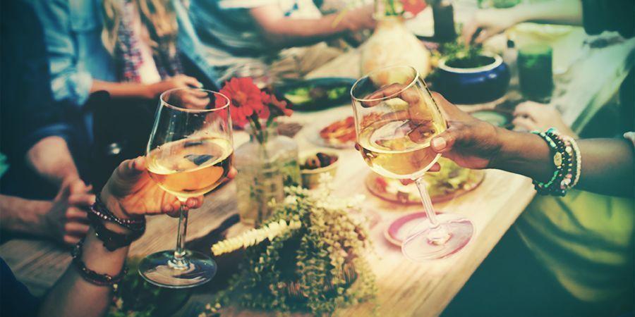 Bezoek Een Culinair Wijnfestival