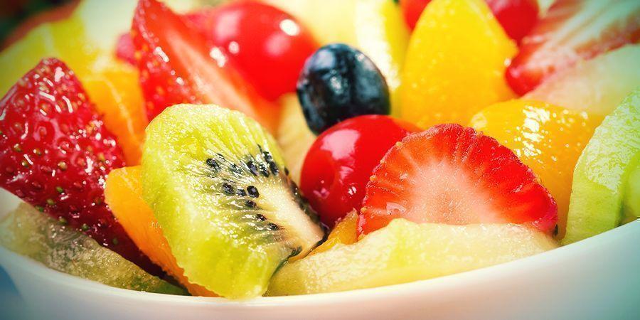 Geen Ongezonde Snacks, Maar Vers Fruit