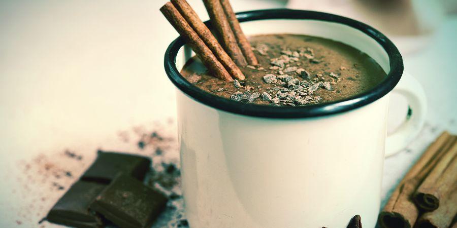 Recept voor warme chocolademelk met cannabis